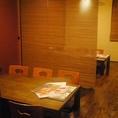 少人数からご利用いただける掘りごたつ個室や個室感覚でご利用いただけるテーブル席も。茨木での各種ご宴会からご家族連れでのお食事まで◎