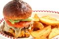 料理メニュー写真DOUBLE CHEESE BURGER/ ダブルチーズバーガー