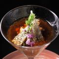 料理メニュー写真コース料理の一例でございます。