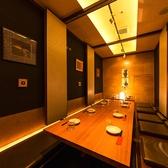 上野・御徒町で個室をお探しのお客様に♪落ち着いた雰囲気の個室を完備しています。