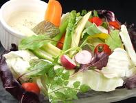 千葉で取れたおいしい野菜を使っております♪