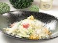 料理メニュー写真アスパラと季節野菜のチーズリゾット