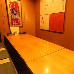 8名様までの完全個室です。プライベート飲み会にもぴったりです。