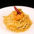 料理メニュー写真生ウニのクリームパスタ