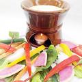 料理メニュー写真スティック野菜のバーニャカウダ