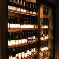 【世界中のワインが並ぶワインセラー】ソムリエが厳選した約30種類以上のワインを常時ご用意しております。世界各国のワインをリーズナブルにお楽しみいただけますよ◎その時にしか味わえないワインもあるので、ぜひお尋ねください♪ワインが初めてのお客様も、ワイン通のお客様もお待ちしております♪