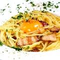 料理メニュー写真カルボナーラ ローマ風