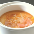 料理メニュー写真No4:フカヒレ風味海鮮茶碗蒸し