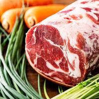 厳選のラム肉・カモ肉
