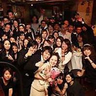 池袋駅周辺で結婚式2次会や貸切はダブリナーズが好評判!