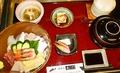 料理メニュー写真ちらし寿し御膳【お刺身・ご飯・赤出汁・茶碗蒸し・小鉢二ヶ・漬物・アイス 付】