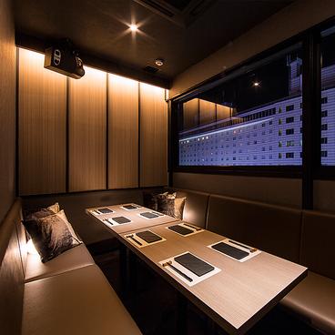 個室居酒屋 晴れのちけむり、ときどきちいず。 赤坂見附店の雰囲気1
