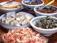 種類豊富な単品料理