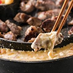 料理メニュー写真その2 とろ~りチーズをつけて...