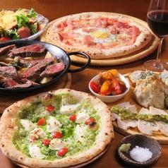 ピザニスタセブン Pizzanista7のコース写真
