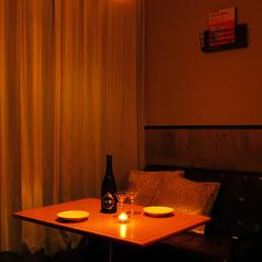 【カップル・デート】個室席なら落ち着いて話せる♪♪