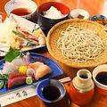 料理メニュー写真【平日・ランチ限定】神楽御膳(刺身、天ぷらなど)