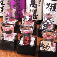日本酒飲み比べセットもございます