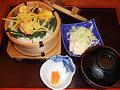 料理メニュー写真鮭親子わっぱ(香物・汁つき)