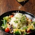 料理メニュー写真ゴロゴロポテトとたっぷりチーズのゆず胡椒ポテトサラダ