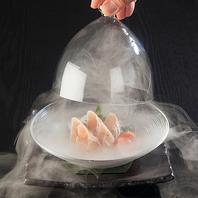 燻製の香り際立つ逸品 ササミ/ローストビーフ/炙り金目