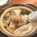 料理メニュー写真元気たっぷりギョーザ鍋/ホカホカの湯どーふ鍋