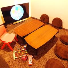 【roomH】お子様も安心して遊べるお部屋♪おもちゃや椅子もご用意しております!店内全ての設備、備品はサービスとなります。ご予約際ご確認下さい