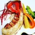料理メニュー写真オマール海老のポワレ~パルミジャーノリゾットを添えて~