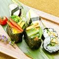 料理メニュー写真本日のオススメ野菜の握り寿司盛り合わせ