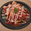 料理メニュー写真[さっぱりフレッシュ!!]トマトお好み焼き
