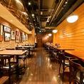 【喫煙可能ルーム】生ビールや肉料理を味わえる飲み放題付の宴会コースは3500円~とリーズナブルに宴会をお楽しみ頂けます。