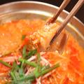 料理メニュー写真ホルモンチゲ鍋(1人前)