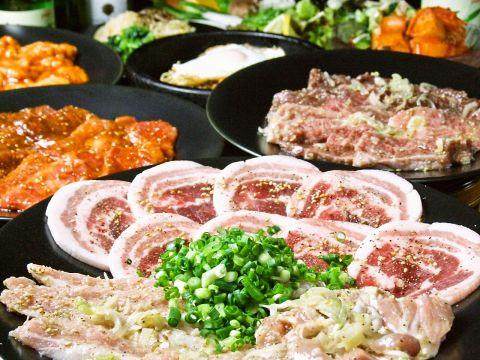知る人ぞ知る本格焼肉ジュジュハット!A5ランクの和牛カルビと韓国家庭料理が大好評♪