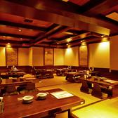 会社での飲み会や接待、友人とのお食事などご利用シーンに合わせてお席をご案内させていただきます。