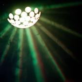 ミラーボールや照明でムード作り♪