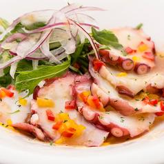 料理メニュー写真本日鮮魚の彩りカルパッチョ