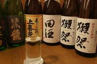 日本酒・焼酎も各種ご用意