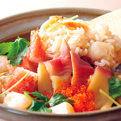 料理メニュー写真海鮮炊き込み土鍋ご飯