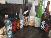 焼酎・日本酒・梅酒など豊富に揃ってます!!