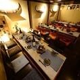 ◆宴会個室36名様までご利用可能な掘りごたつ席をご用意しております。大人数様のご宴会などにもとてもオススメです。また、完全個室になっているため、周りの声や音を気にすることなく、ゆったりとお過ごしいただけます。そのため、接待、ご会食、ご宴会にも最適です。