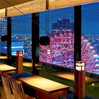 大阪・梅田の夜景を一望