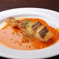 料理メニュー写真鯛のソテー ウニソース