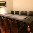 個室もソファーのタイプやテーブルのタイプなど、さまざまございます。それぞれ個室は人気のお席となりますので、ご予約はお早めに♪