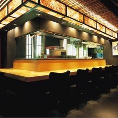 お一人様でも高田屋の旬の味を楽しめるカウンター席もご用意!