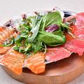 料理メニュー写真3種のカルパッチョ