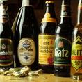 ドイツビールがたっくさん!