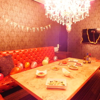 誕生日会に大人気★完全個室VIPルーム!