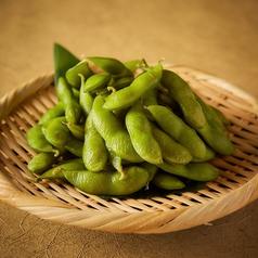 料理メニュー写真さっぱり塩味枝豆