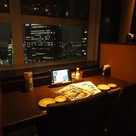 新宿アイランドタワー44F☆東京の夜景一望
