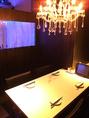 テーブル席もございます。※2~6名様水槽の見える特別な空間